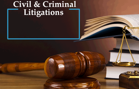 Civil and Criminal Litigations